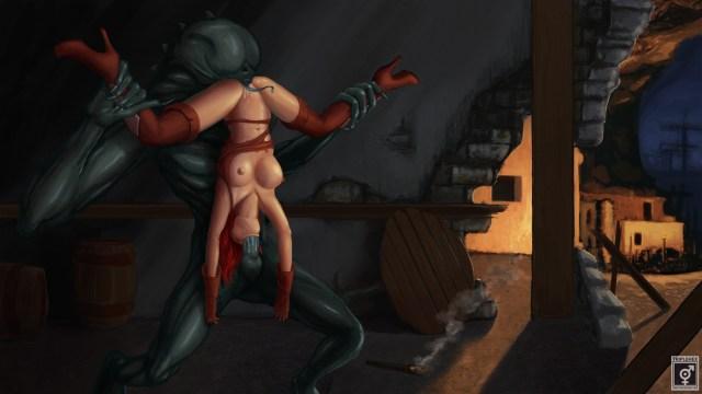 Minyerva in No Man's Wharf #1