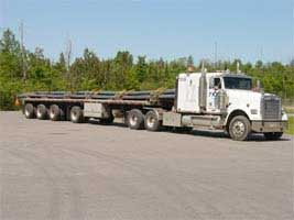 48 Foot 4 axle Platform Trailer - Triple K Transport