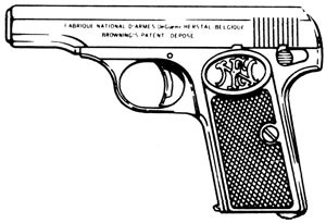BROWNING MODEL 1910, .380ACP, 6 RD MAGAZINE OR GRIPS