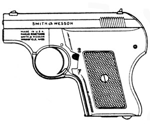SMITH & WESSON 61 ESCORT, .22LR, 5 RD MAGAZINE OR GRIPS