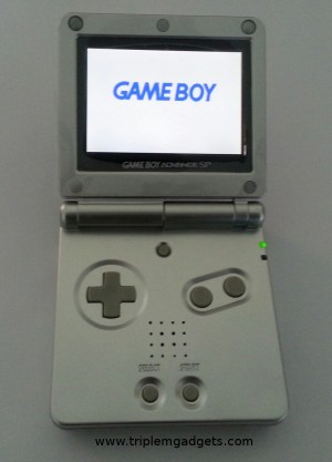 Backlit Game Boy Advance SP