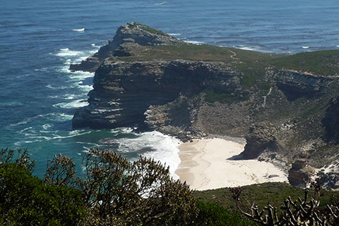 Cape of Good Hope (looking west from Cape Point)