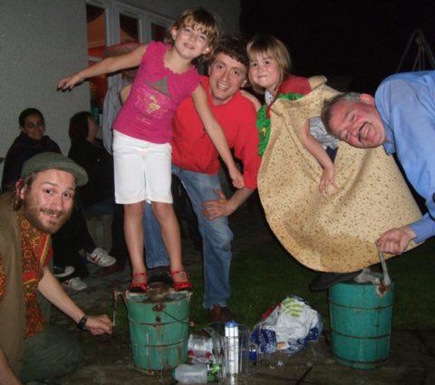Crazy taco ice cream making