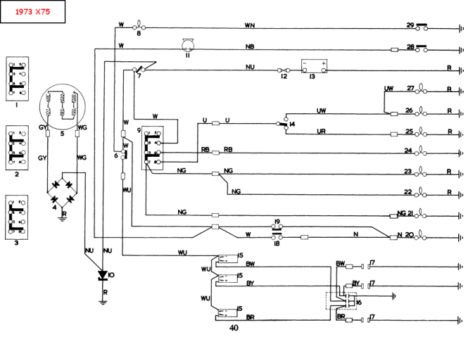 73 Tr6 Wiring Diagram. Tr6 Relay Diagram, Spitfire Wire Harness ...