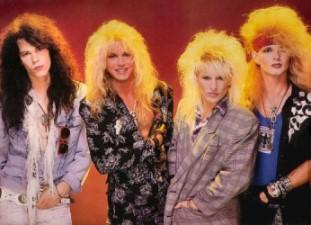 80s mens big hair