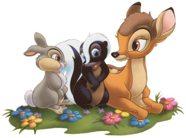 free bambi disney clipart