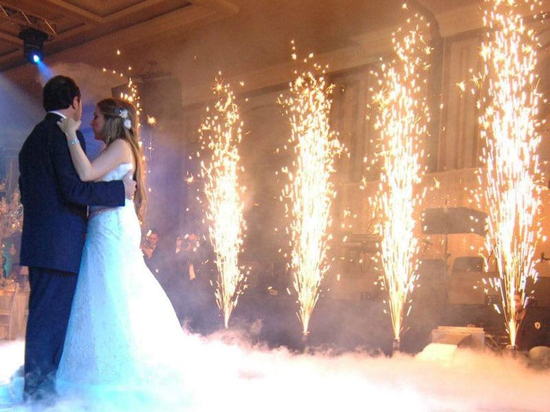 Sztuczne ognie na imprezy prywatne, m.in. wesela, urodziny