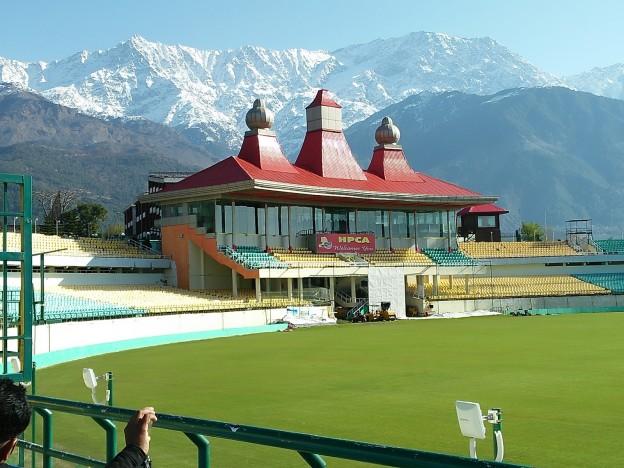 Dharamshala Cricket Stadium-Trvldy.com