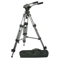 CowboyStudio FT9901 Professional Heavy Duty 75mm Video Camera Tripod with Fluid Drag Pan Head
