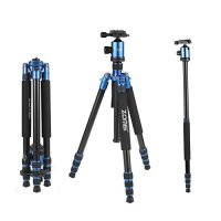ZOMEi Z818 Hiking Tripod For DSLR Cameras Canon Nikon Sony ( Blue )