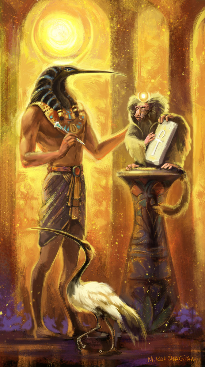 Image result for american gods thoth