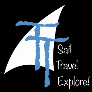 Trippin' Turpins Sail Travel Explore Logo