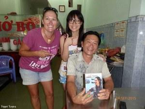 Friendly people in Vietnam