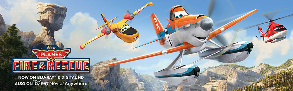 Planes Fire and Rescue on DVD  Trippin with Tara