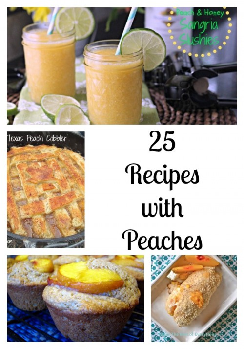 25 peach recipes