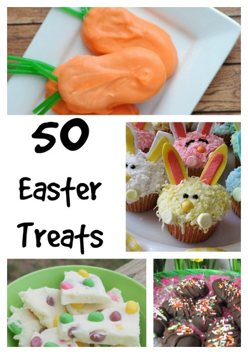 50 Easter treats