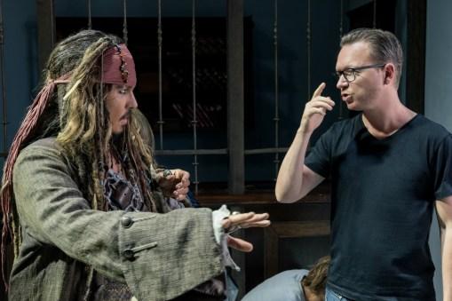 Directors of Dead Men Tell No Tales Joachim Ronning and Espen Sandberg