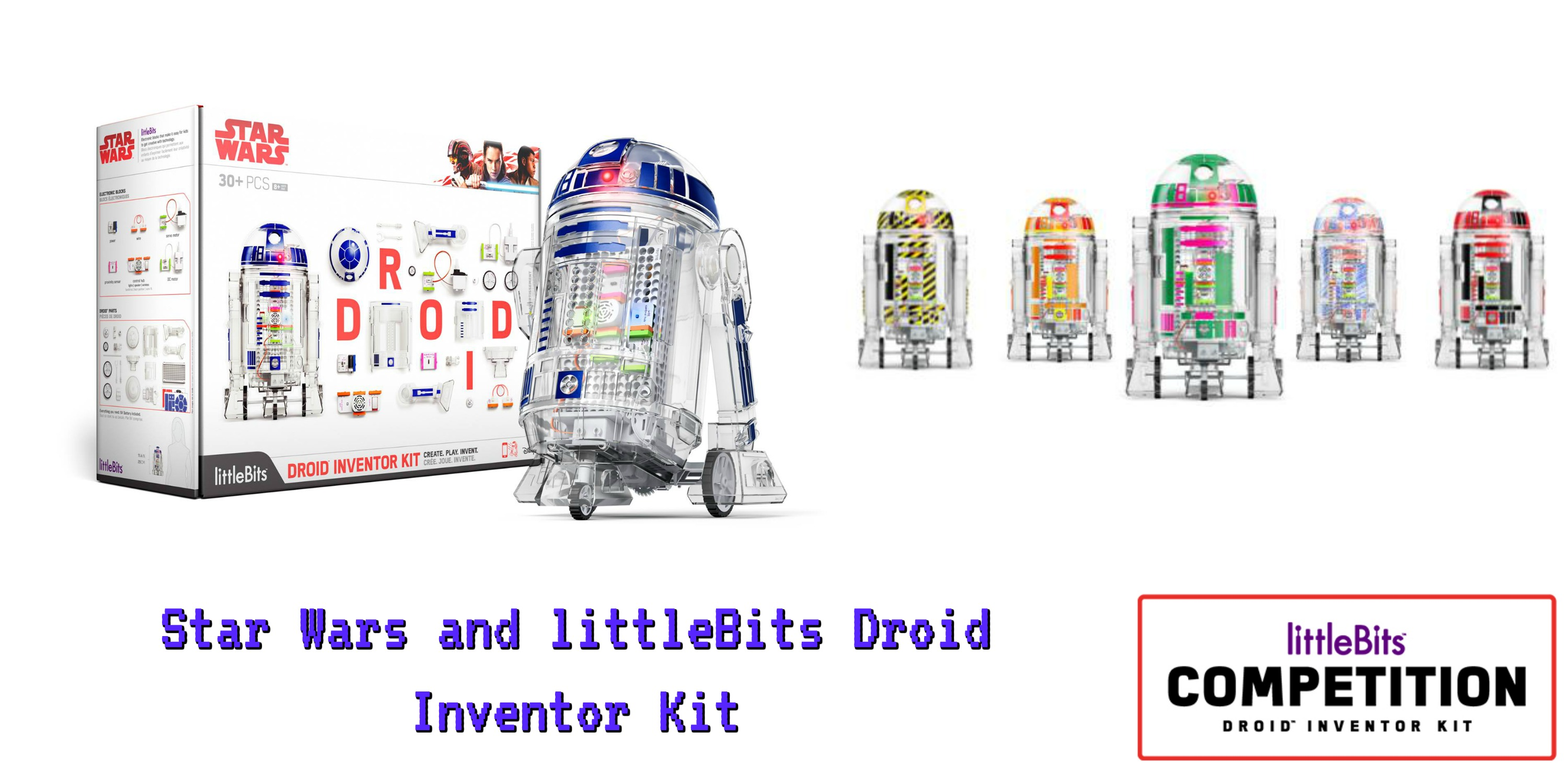 Star Wars and littleBits Droid Inventor Kit with