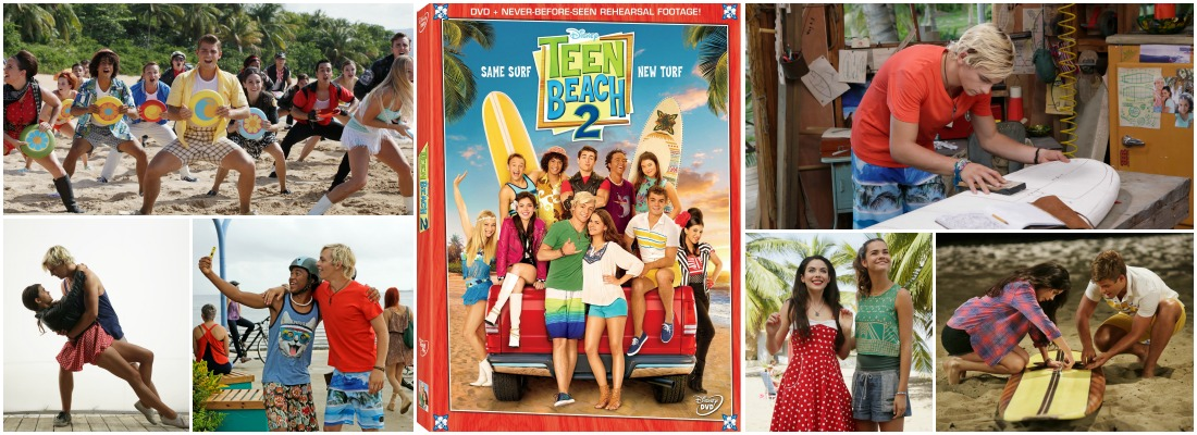 Teen Beach 2 on DVD TeenBeach2Event