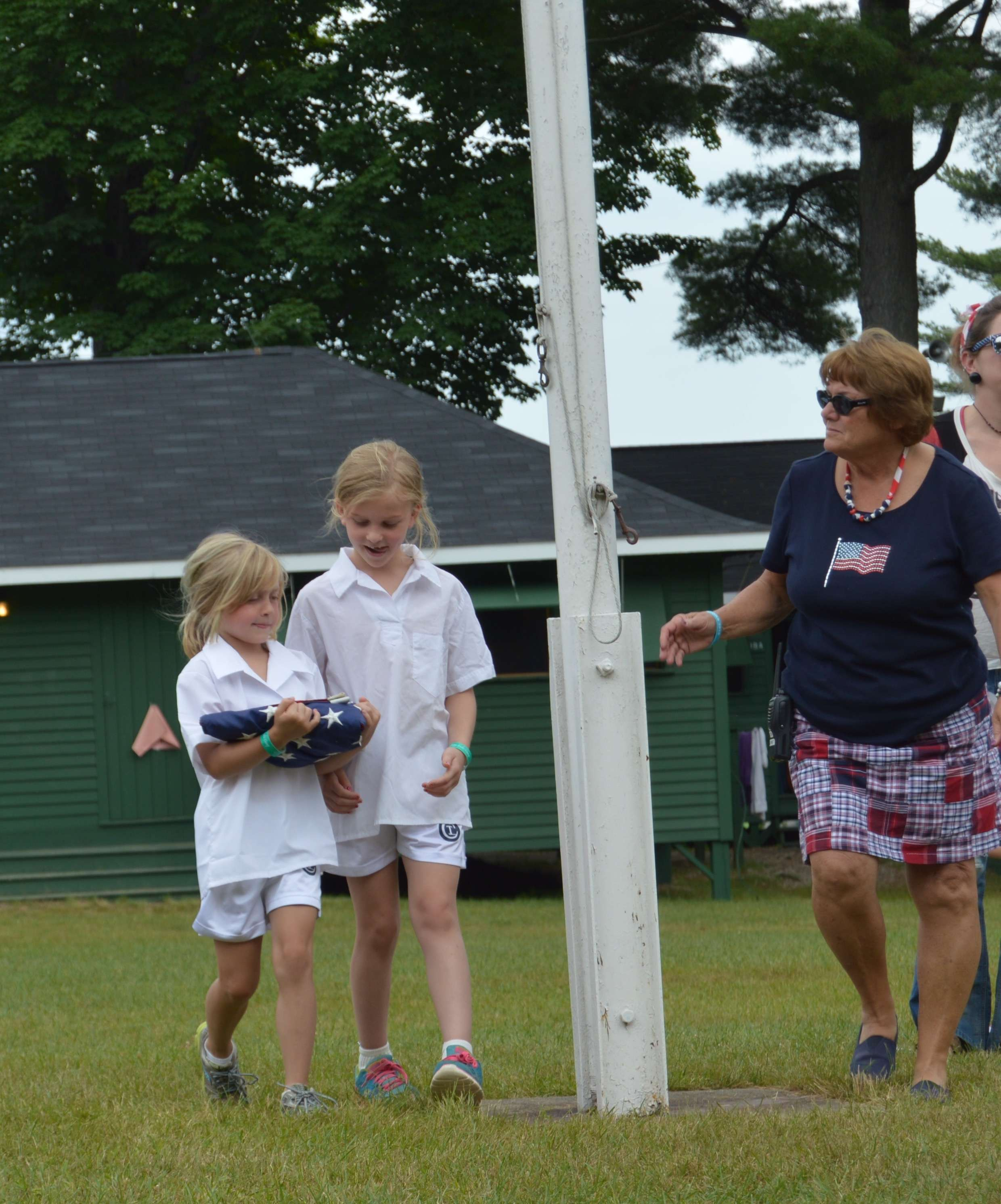 What's Happening At Tripp Lake Camp: July 4, 2015