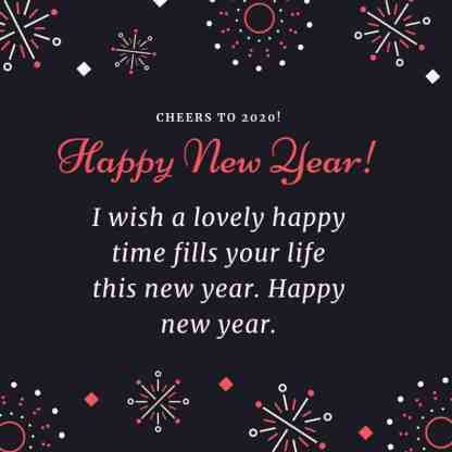 Happy New Year Wishes 2020 Images Download