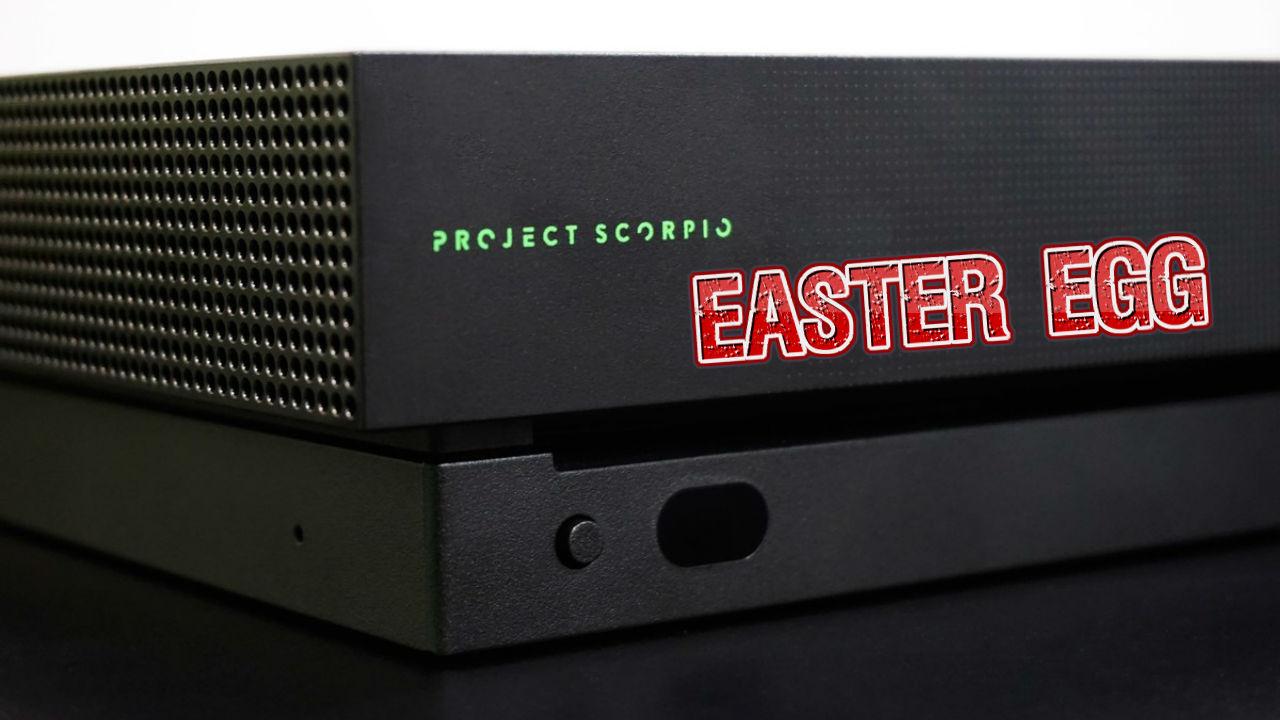 Xbox One X Masterchief Auf Skorpion Ziert Die Innenseite