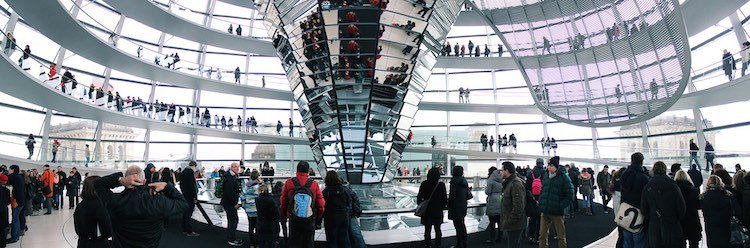 Berlin Reichstag Dome