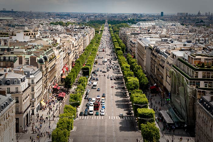 Elysian Fields or Champs Elysees