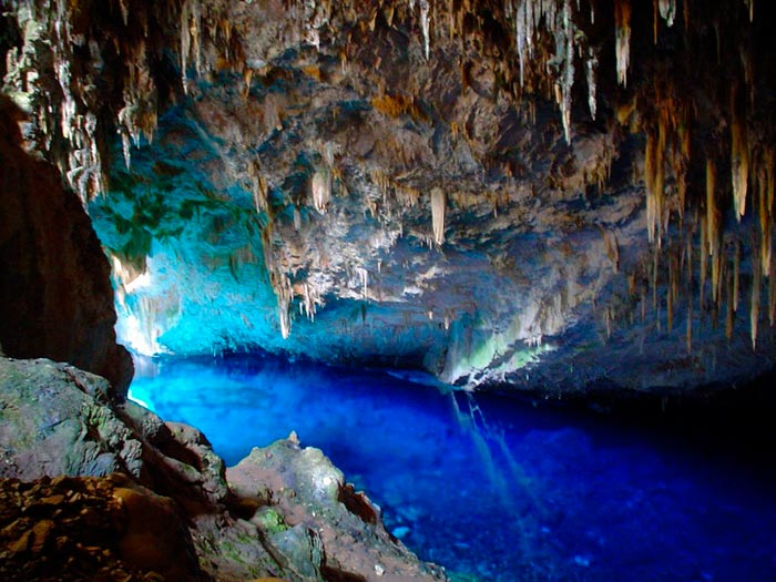 Enchanted Well at Chapada Diamantina National Park, Brazil