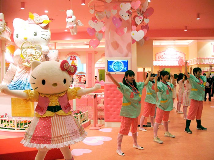Hello Kitty Kawaii Paradise in Japan
