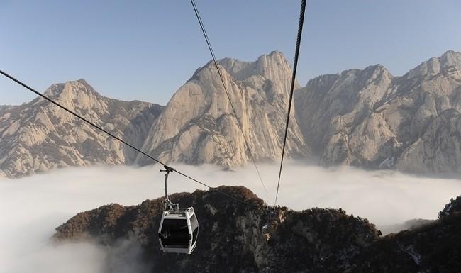 Hua Shan Cableway, China