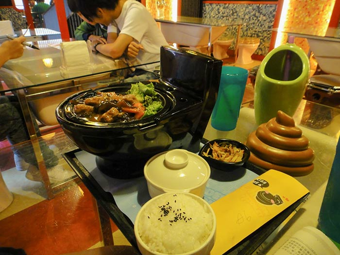Modern Toilet Restaurant in Taiwan