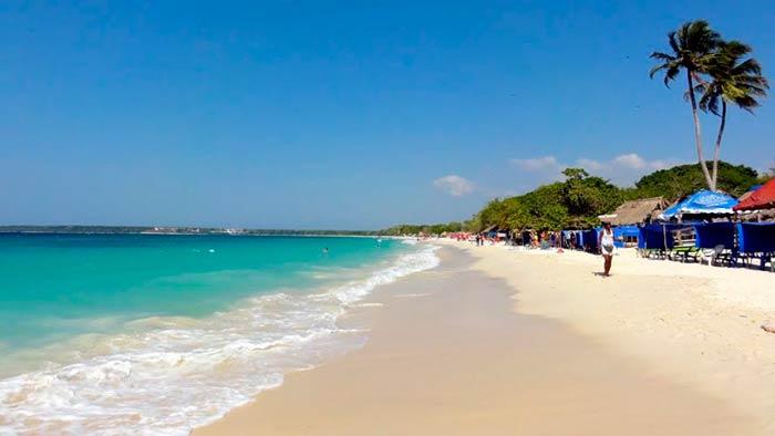 Playa Blanca, Colombia