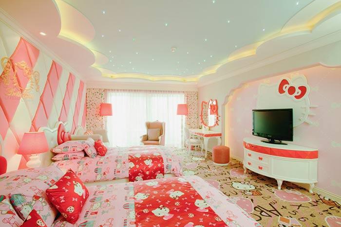 Hello Kitty Hotel in Taiwan