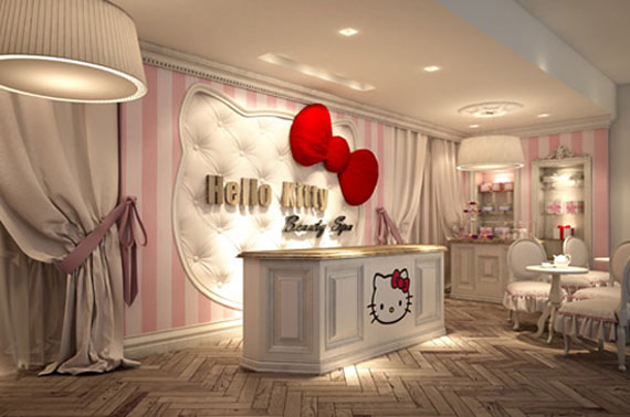 Hello Kitty Beauty SPA in the UAE