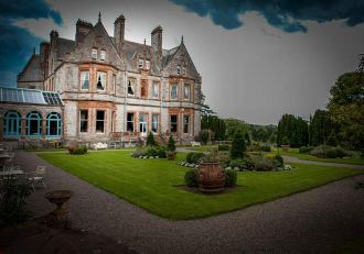 Castle Leslie in Glaslough, County Monaghan, Ireland