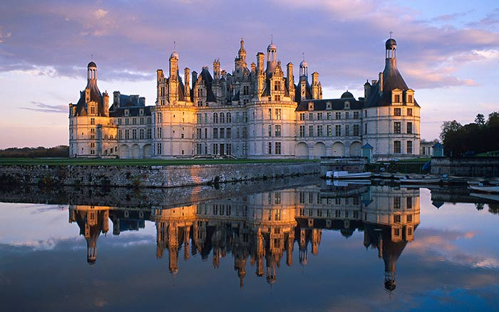 Chateau de Chambord Castle, France