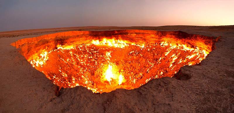 """""""Door to Hell"""", Turkmenistan"""
