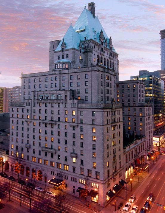 Fairmont Hotel Vancouver in Vancouver, British Columbia, Canada