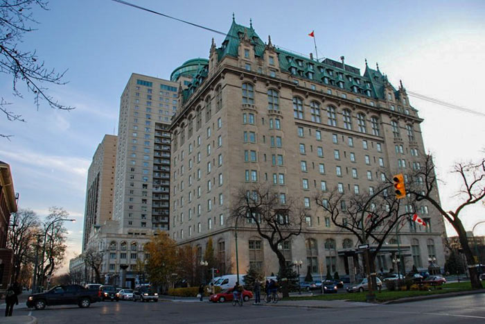 Fort Garry Hotel in Winnipeg, Manitoba, Canada