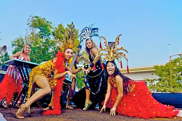 Goa Carnival in Panaji, India