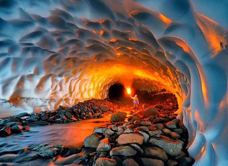 Kamchatka Ice Caves, Russia
