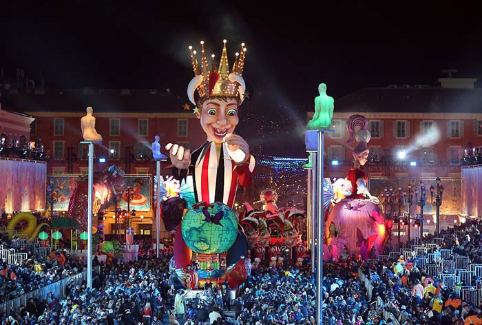 King of Masquerades Carnival in Nice, France