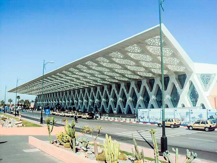 Marrakech-Menara Airport, Morocco