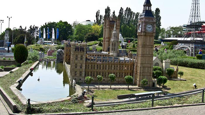 Mini Europe in Belgium