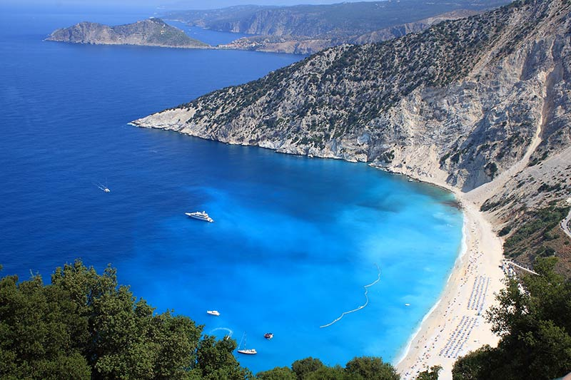 Myrtos Beach, Greece