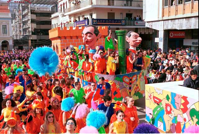 Patras Carnival in Peloponnese, Greece