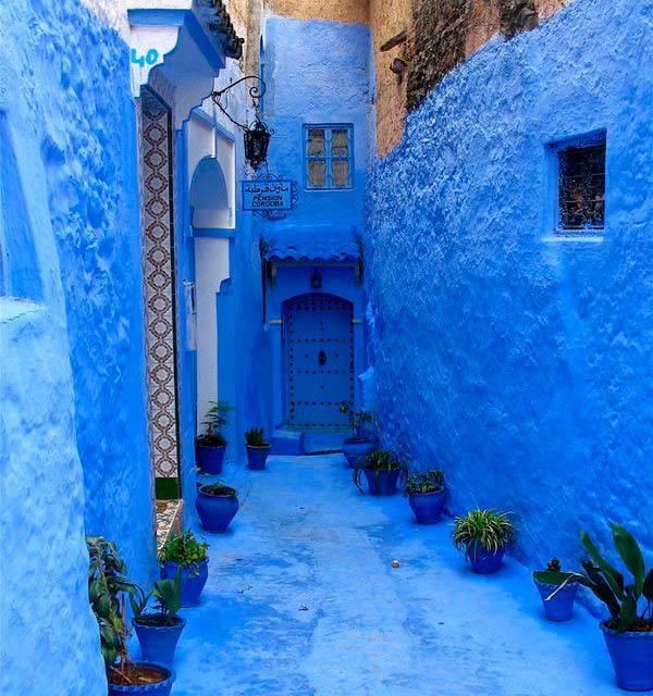 Rue Targui, Chefchaouen, Morocco