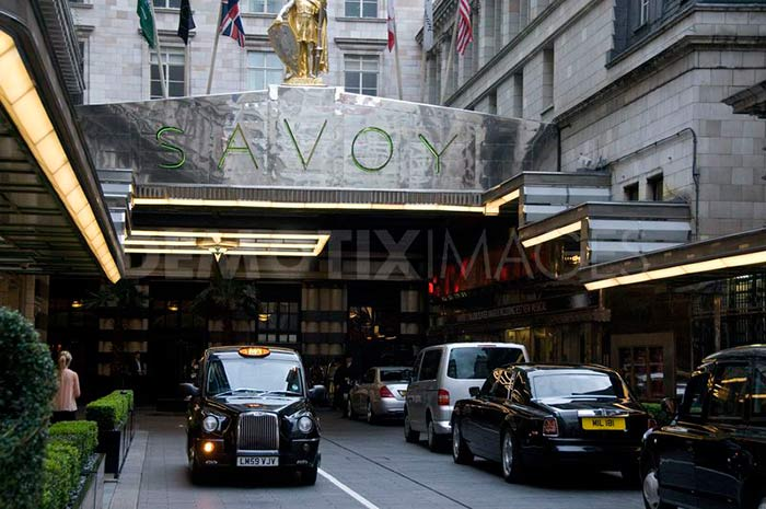 Savoy Court Street, London, England