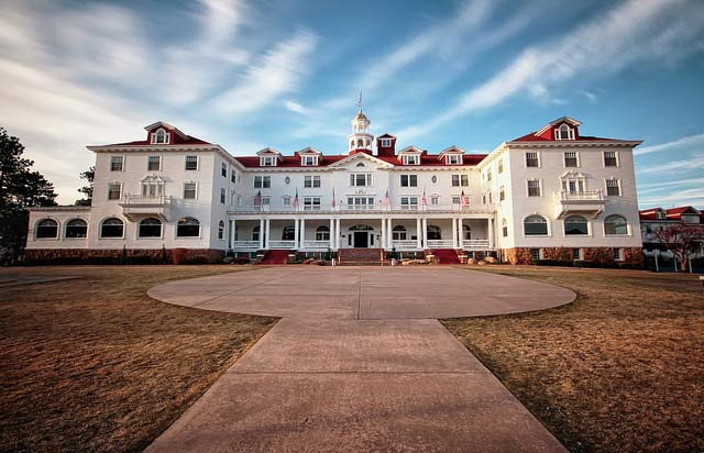The Stanley Hotel in Estes Park, Colorado, USA